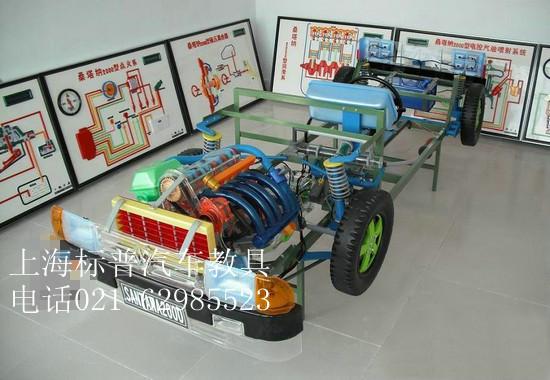 汽摩类教学器材-桑塔纳发动机机体解剖模型